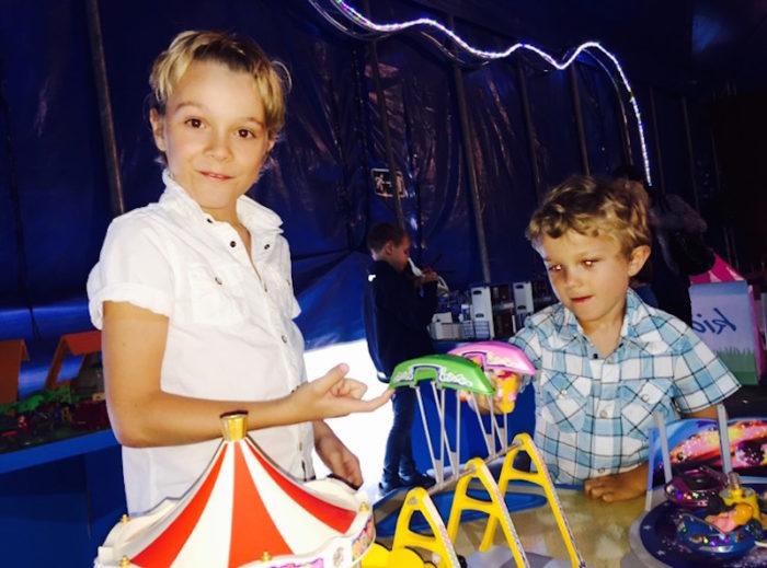 Alex Watson James Watson söner Malln Watson Premiär Cirkus Scott Babblarna