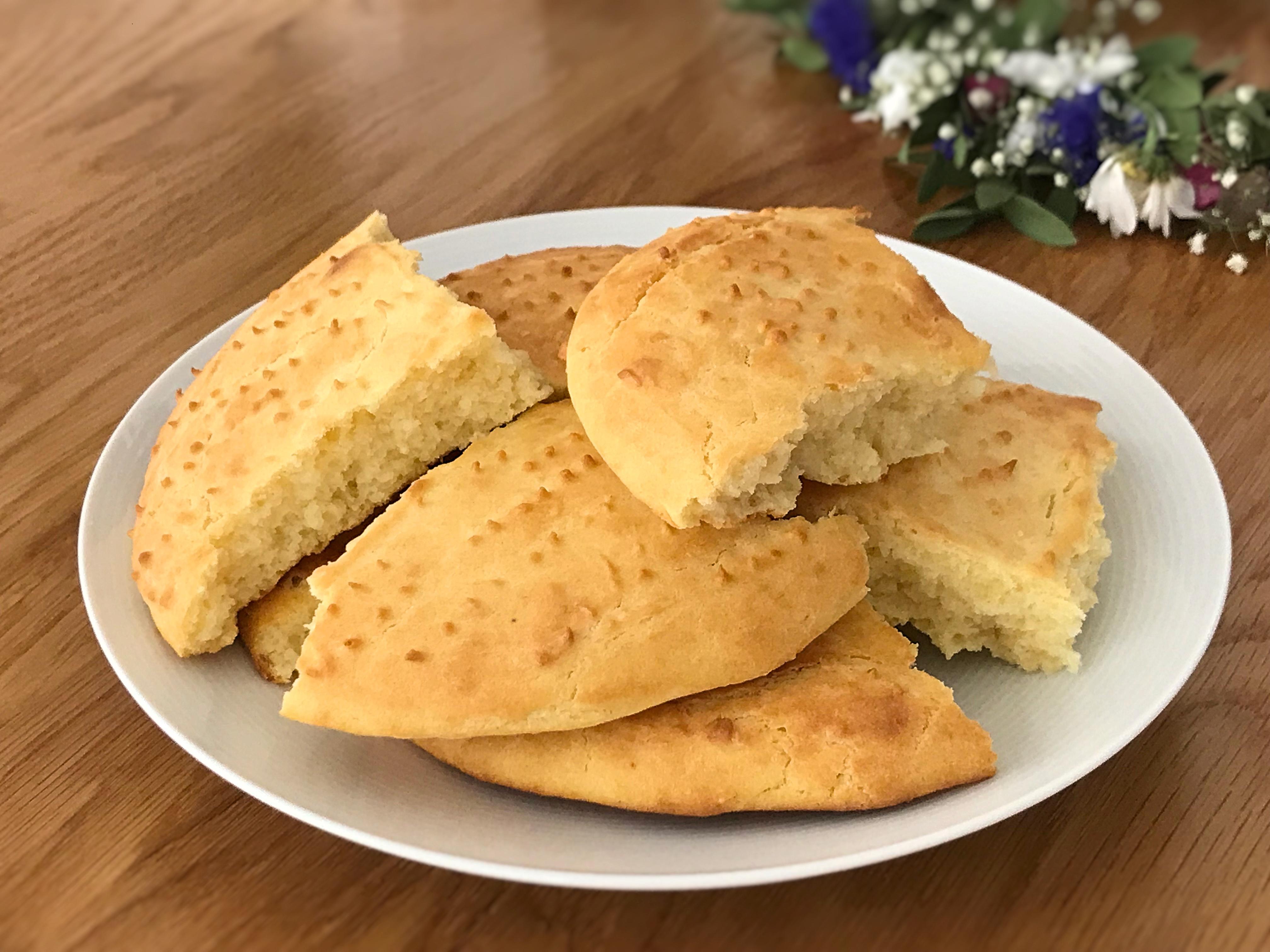 scones på majsmjöl