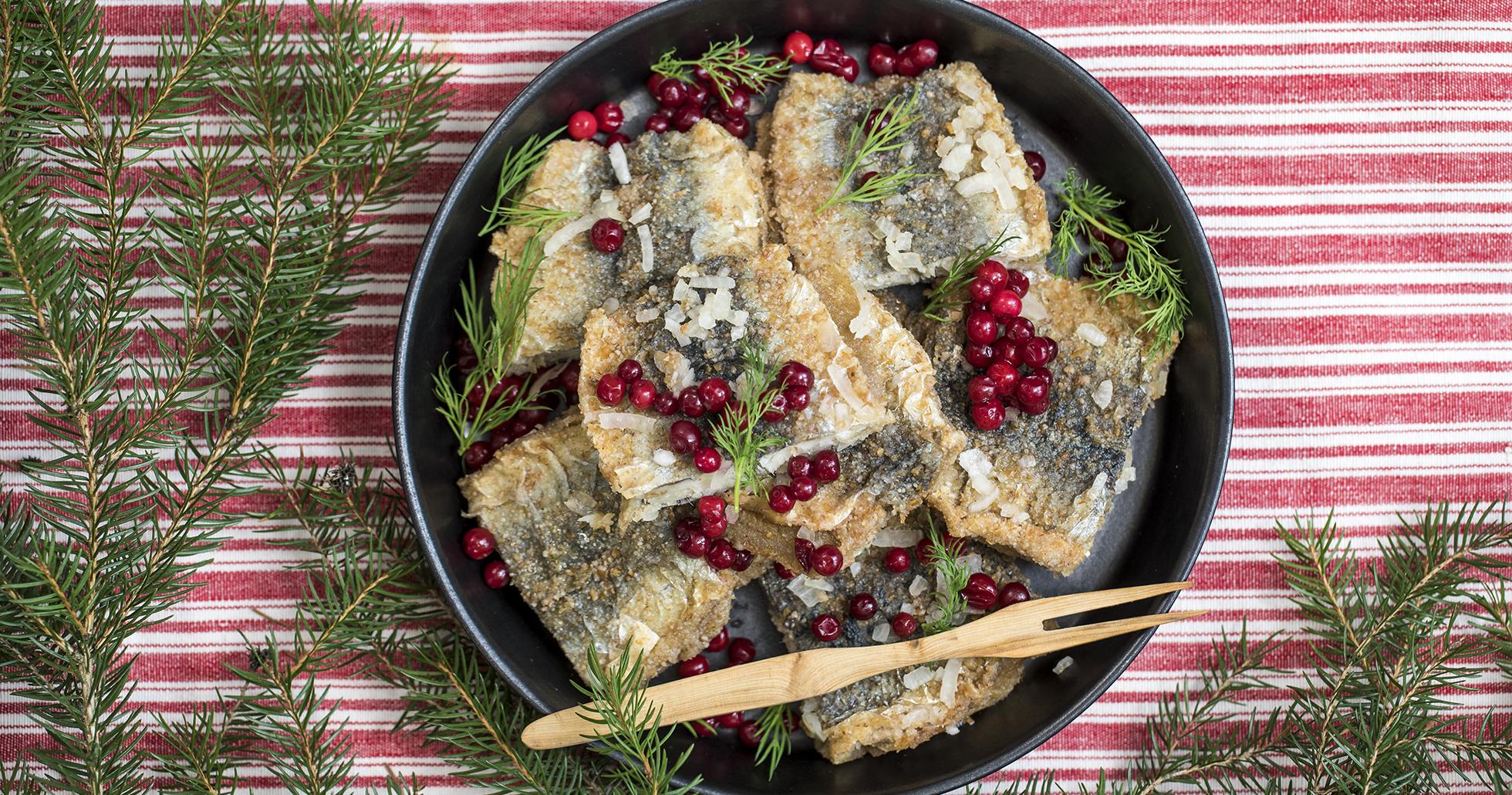 stekt sill i ättika recept