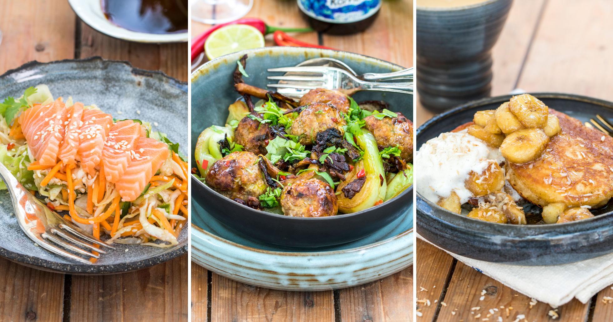 Asiatiska Pannkakor