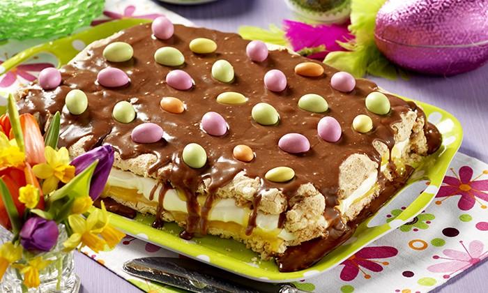 Glutenfri påsktårta i långpanna