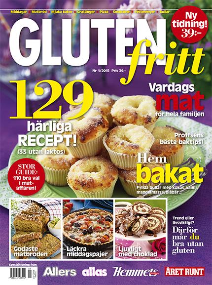 baka glutenfritt tidning