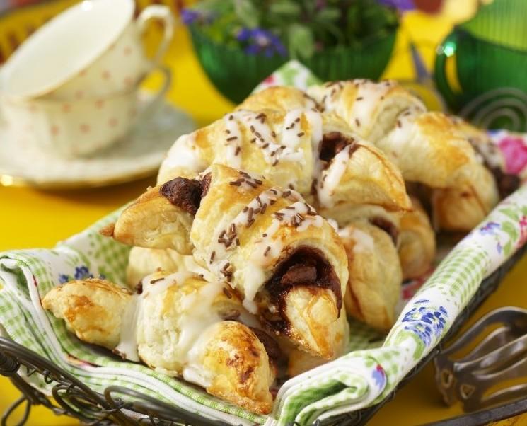 Gifflar med nutella