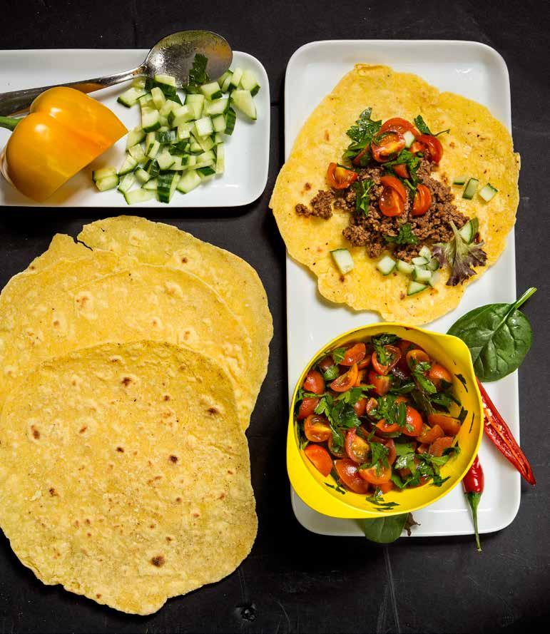 tortillabröd recept majsmjöl