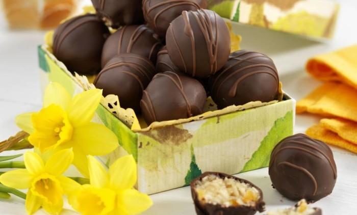 Chokladdoppade kokosbollar