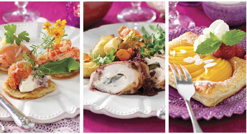 3 rätters middag recept