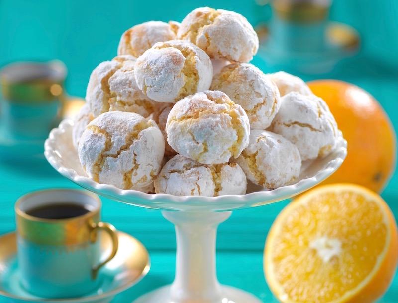 Glutenfria apelsincookies