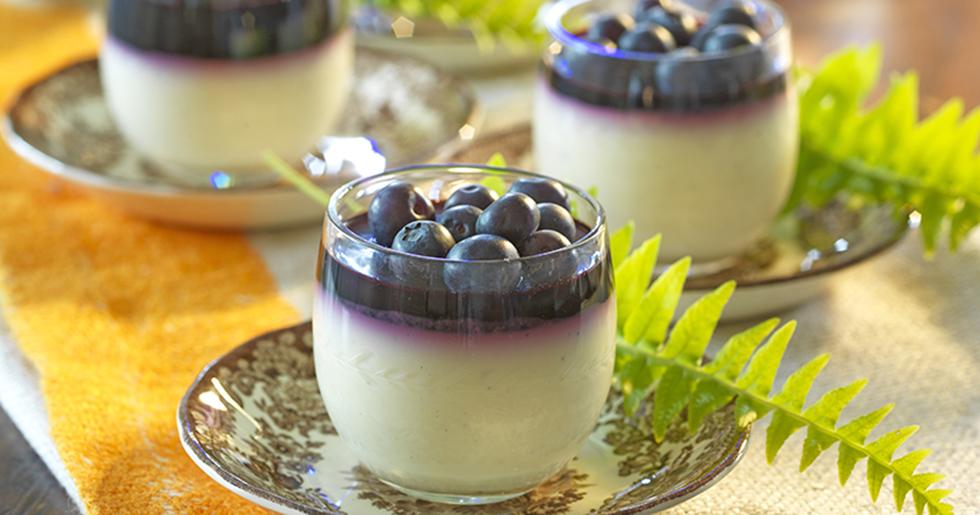 Blåbär dessert recept