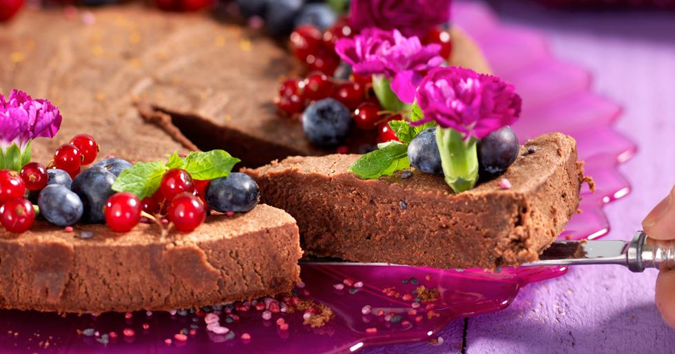 Kladdkaka de luxe – extra chokladkrämigt