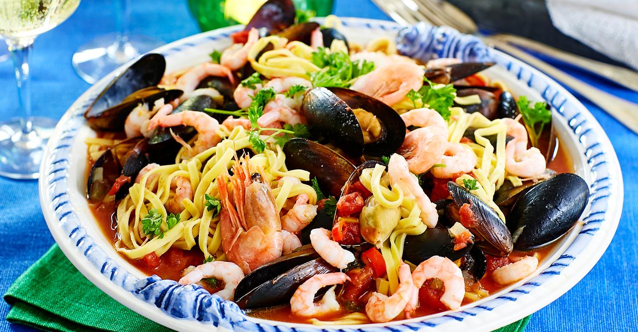 Wowgott –pasta frutti di mare – recept