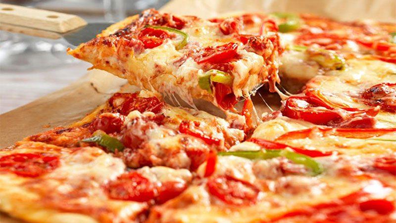 Glutenfri partypizza