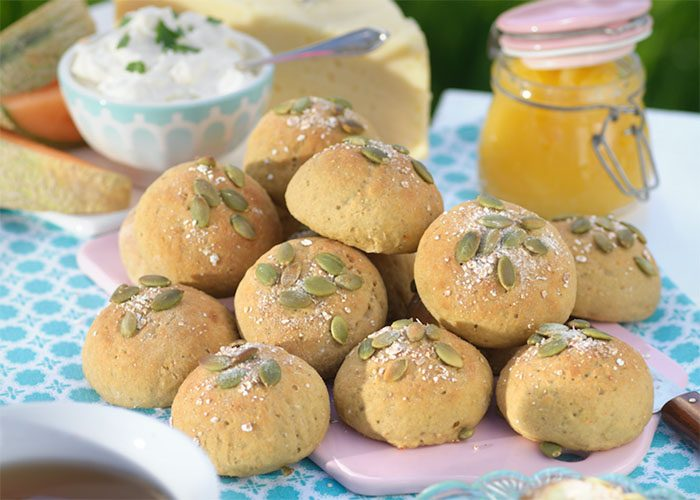 Glutenfria morotsbröd