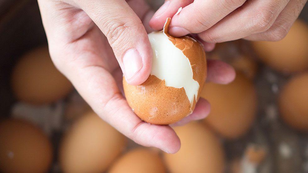 5 enkla knep för att snabbskala ägg