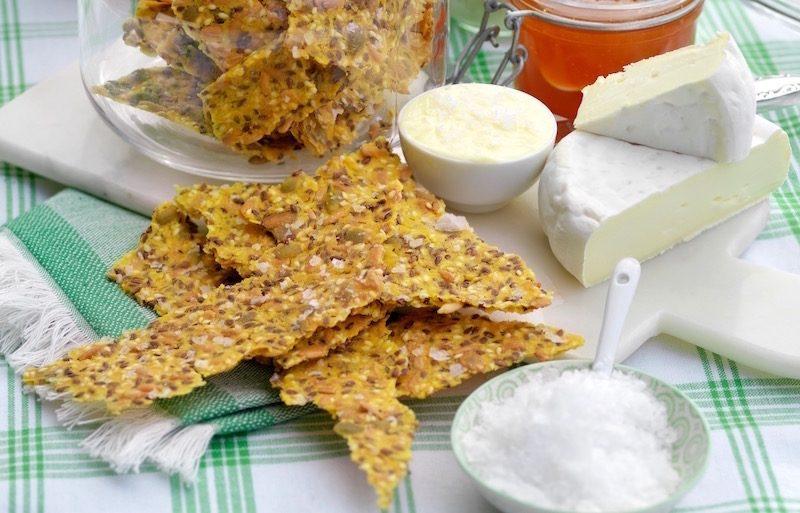 Glutenfritt fröknäcke med majsmjöl
