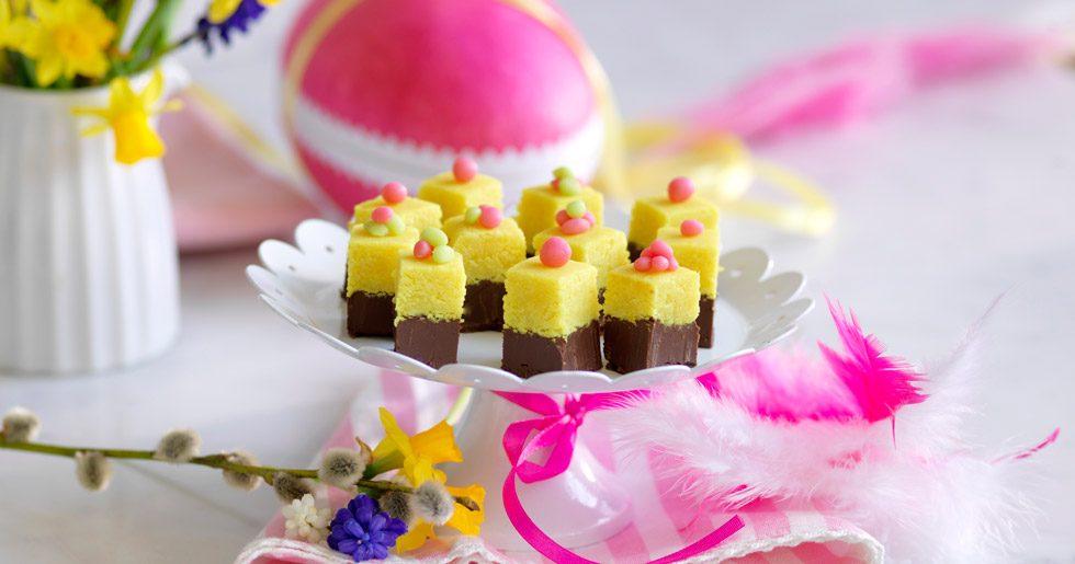 Marsipangodis med choklad recept