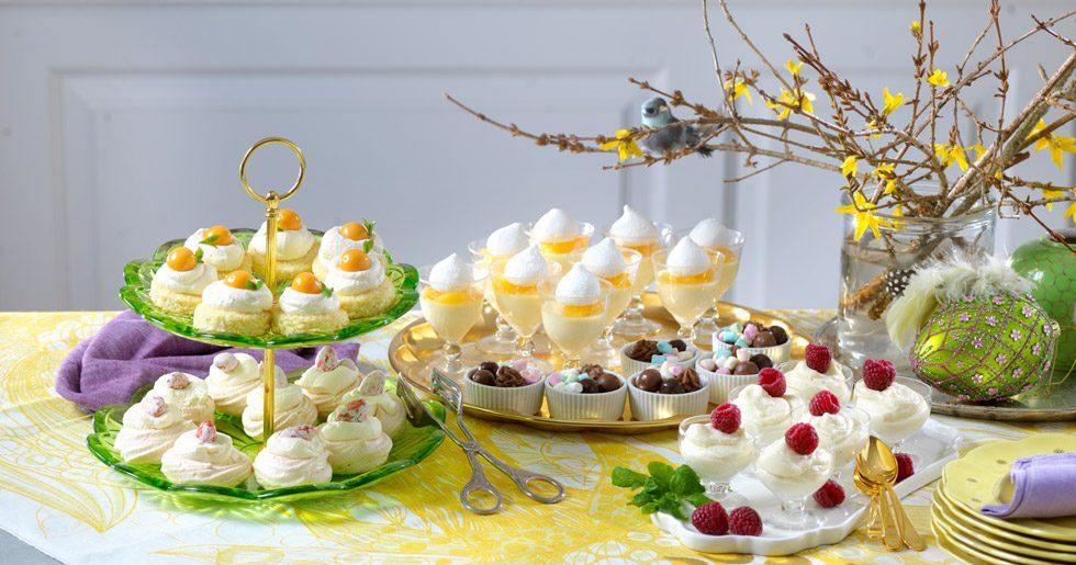 Mini-desserter till påsk recept