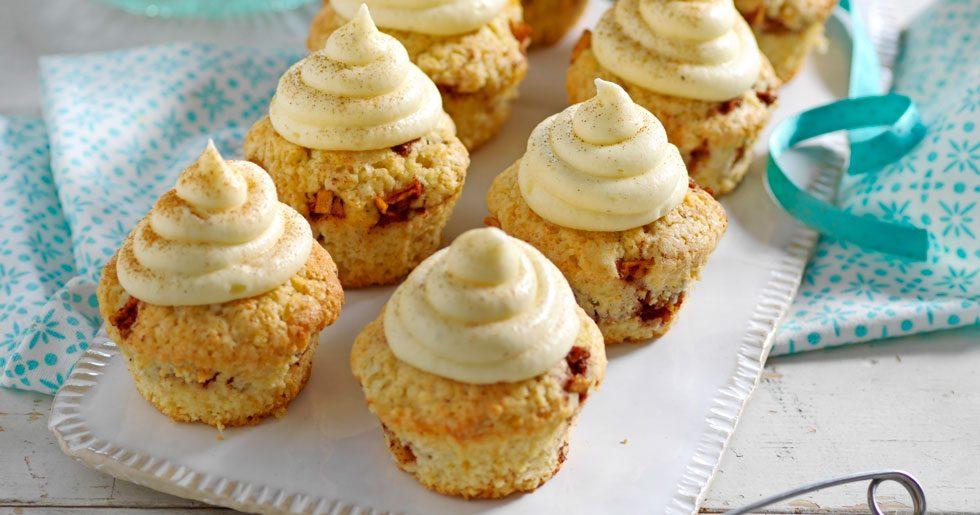 Minimuffins med äpple och kanel