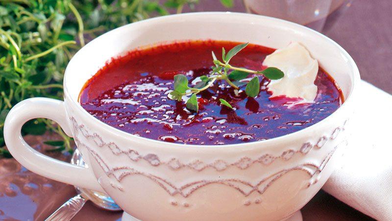 tomat- och rödbetssoppa recept