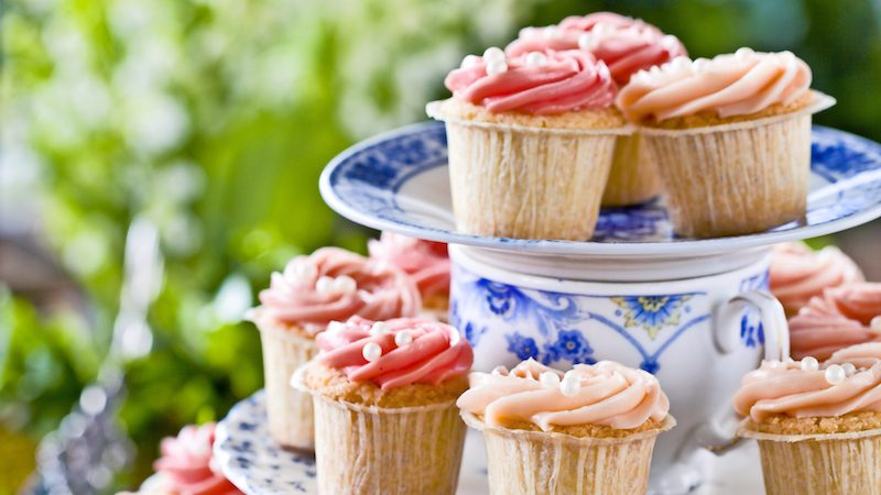 Minimuffins med topping
