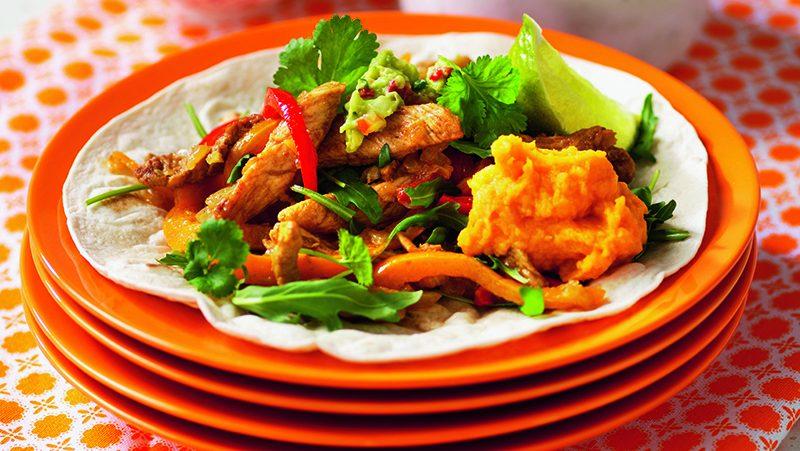 Limemarinerad kyckling och sötpotatisaioli