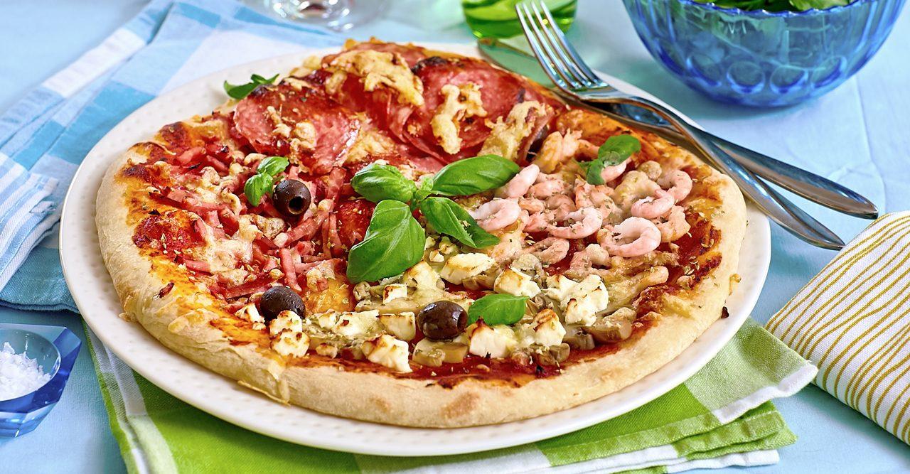 Läcker pizza på en halvtimme – recept
