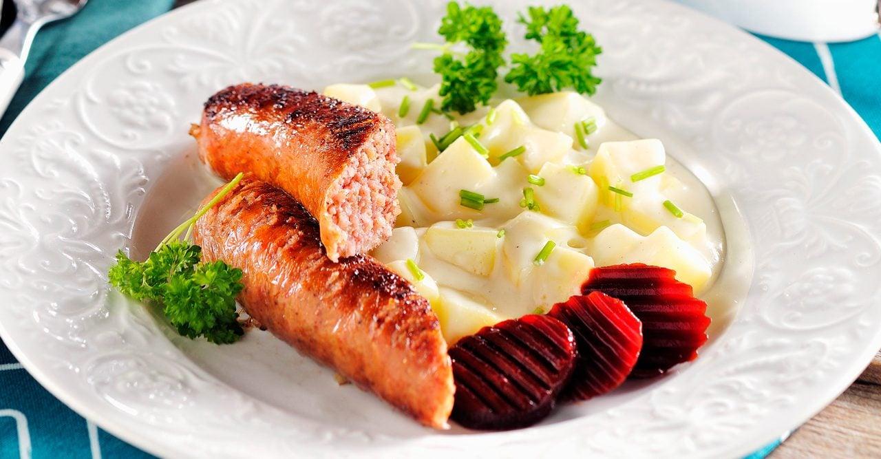 Isterband med stuvad potatis – recept