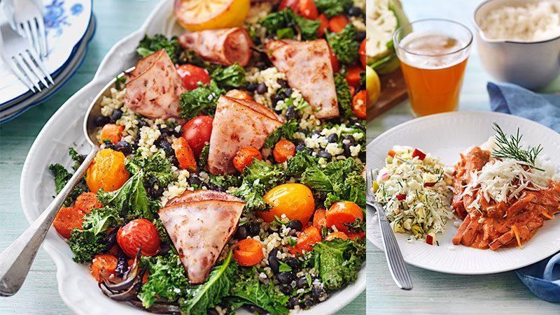 Kaloriberäknade recept för hela veckan