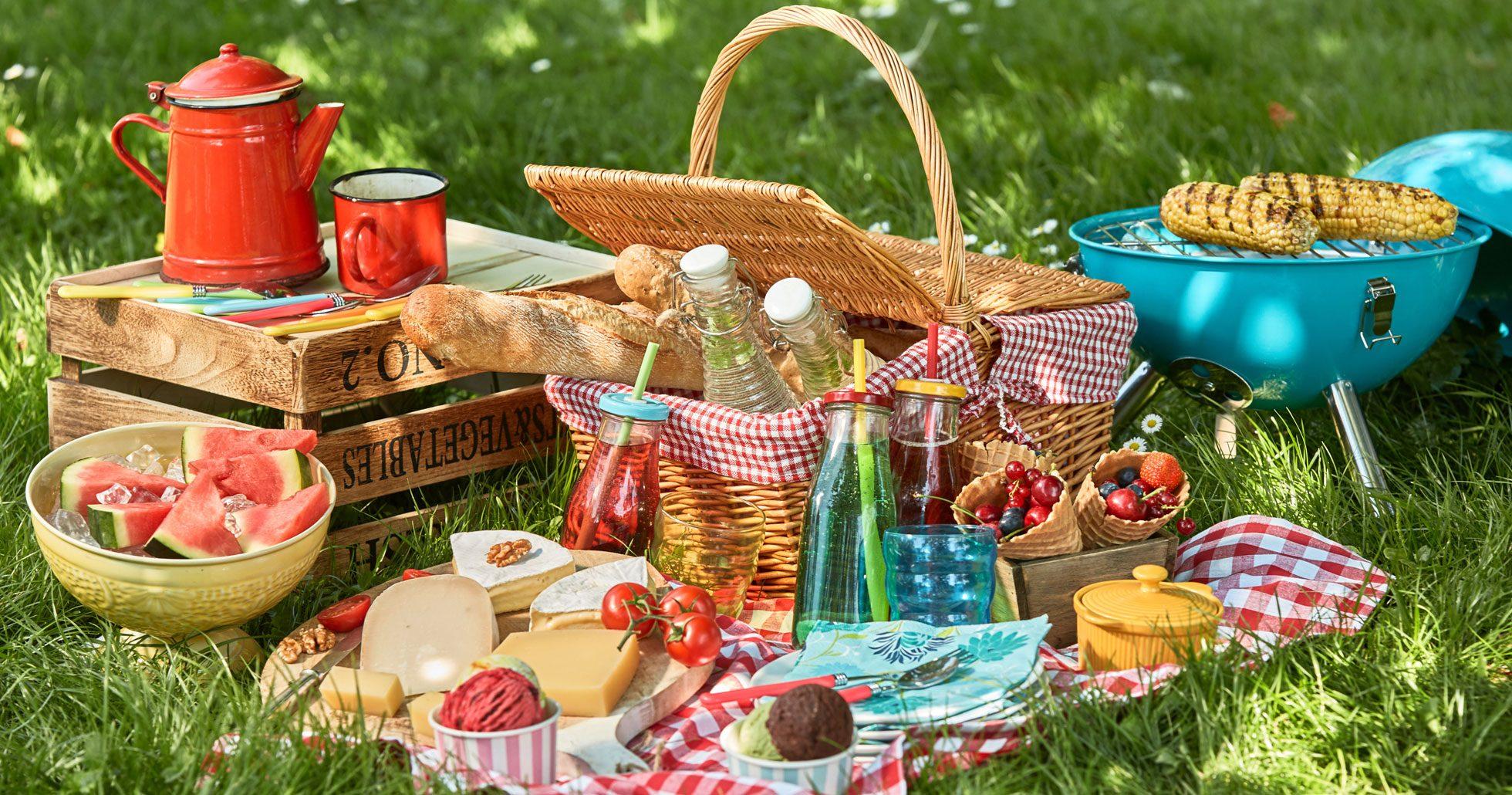 Bästa recepten på lättlagade rätter till picknicken