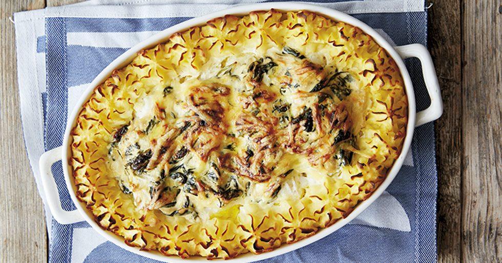 Torskrygg Florentine recept Tina Nordström