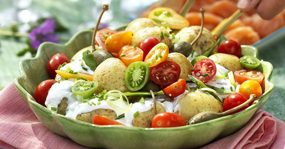Krämig potatissallad