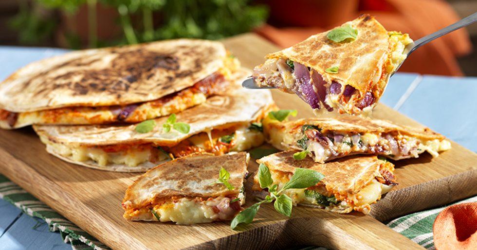 quesadillas recept vegetarisk