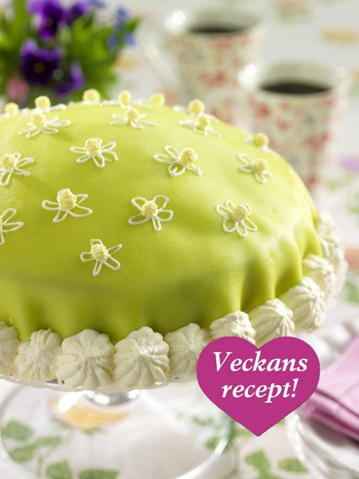 Söt prinsesstårta!