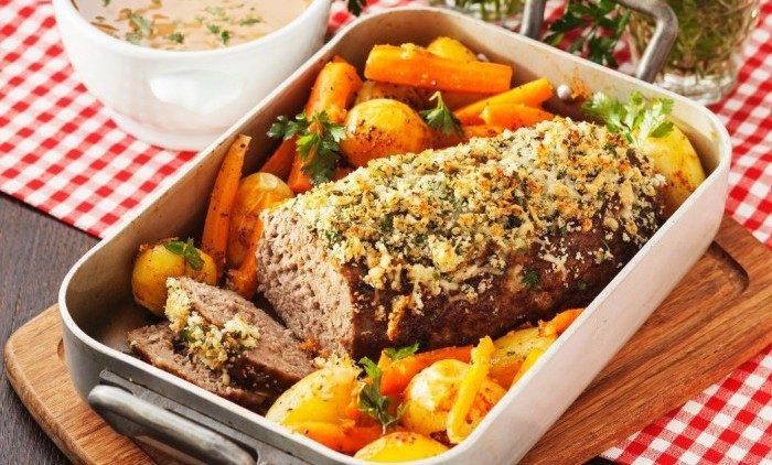 Köttfärslimpa Provençale