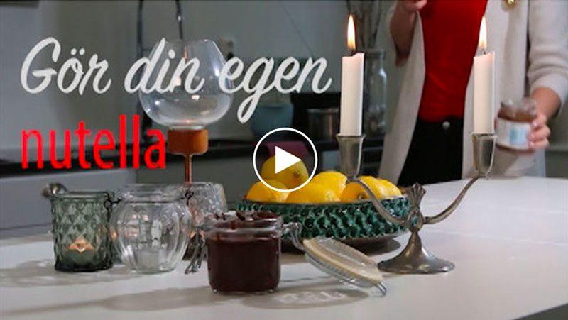 Film: Så gör du din egen Nutella