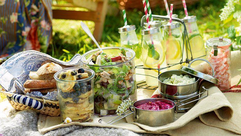 6 läckra recept för picknick i det gröna