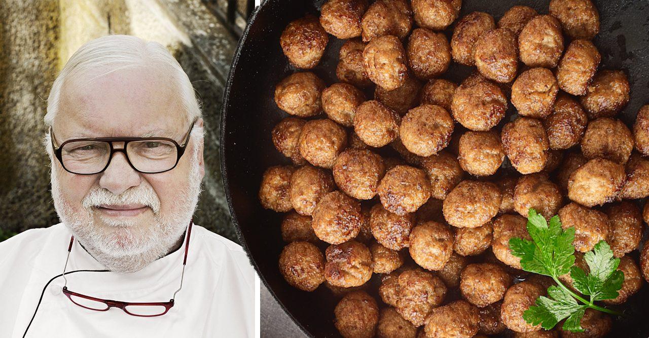 Leif Mannerströms köttbullar recept