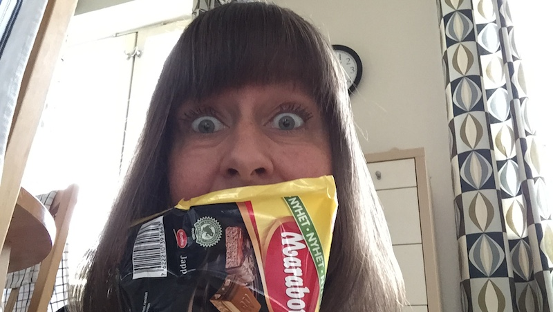 Selfie Marabou Japp choklad