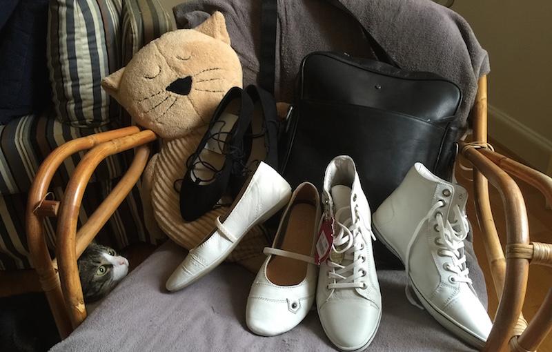 Shopping skor och väska