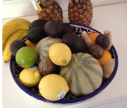 beskurebn frukt